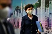 US Slaps Sanctions On Hong Kong Leader For 'Undermining Autonomy'