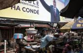 Alpha Conde won over 59 percent of the vote in Guinea's highly contested presidential poll
