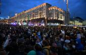 Opposition supporters rallied in Moscow chating 'Freedom!'